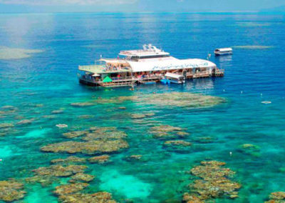 outer barrier reef snorkel cruise 2