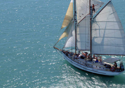 pioneer sunset sailing