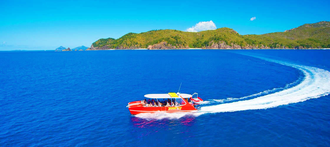 Whitehaven Beach Speedboat Full Day Adventure   Great Barrier Reef