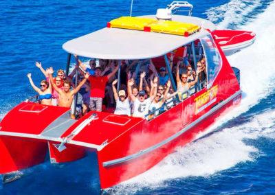 whitehaven speedboat